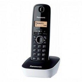 Teléfono Inalámbrico Panasonic KX-TG1611SPW Blanco