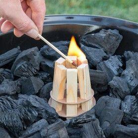 Iniciador de Fuego de Madera para Barbacoas BBQ Classics