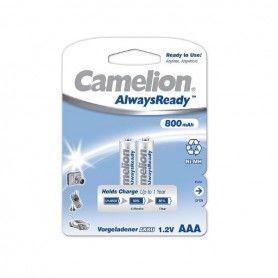 Rechargeable Batteries Camelion BAT422 LR3 AAA 800 mAh (2 uds)
