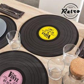 Salvamanteles Retro Disco