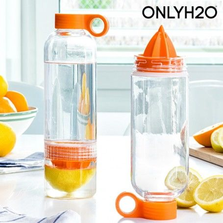 Sensations Juicer Citrus Fruit Infusion Bottle with Juicer