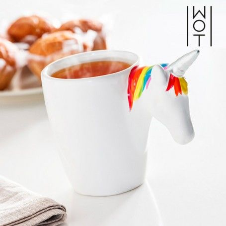Tasse avec Poignée Licorne Wagon Trend