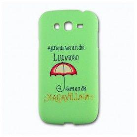 Protection pour téléphone portable Ref. 130448 Huawei P9 TPU Pluie