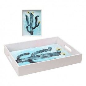 Plateau Cactus Blanc 113953