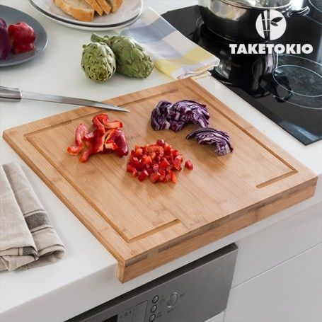 TakeTokio Bamboo Countertop Chopping Board