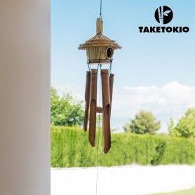 TakeTokio Bamboo House Wind Chime