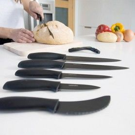 Cecotec Titanium Professional Ceramic Knives (7 pieces)
