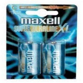 Alkaline Batteries Maxell MXBLR14 C 1.5V MN1400 (2 pcs)