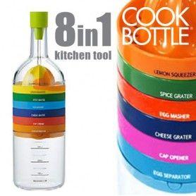 Cook Bottle Kitchen Utensils