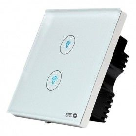 Smart Switch SPC Hemera 6204B WIFI 2.4 GHz White