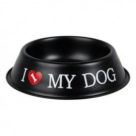 Mangeoir pour animaux I Love My Dog 116052 (Ø 21 cm)