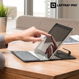 Support Tablette avec Housse Laptray Stand