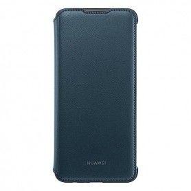 Folio Mobile Phone Case Huawei Y7 2019 Flip Cover Blue