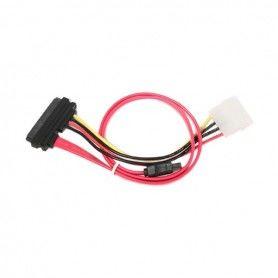 Cable SATA III + Cable de Alimentación GEMBIRD CC-SATA-C1