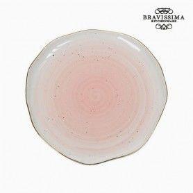 Plato Llano Porcelana - Colección Kitchen's Deco