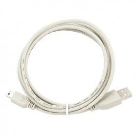 USB 2.0 A to Mini USB B Cable GEMBIRD CC-USB2-AM5P-6 (1,8 m) White