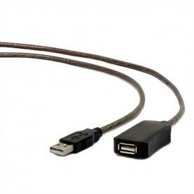 USB Extension Cable GEMBIRD UAE-01-10M (10 m) Black