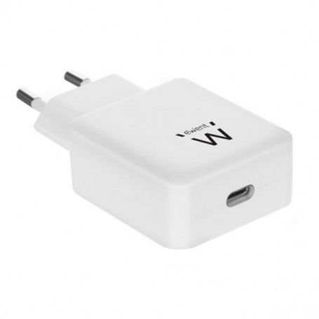 Wall Charger Ewent EW1315 USB-C White