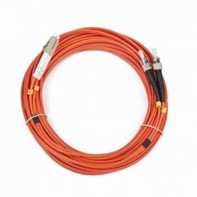 Duplex Multimode Fibre Optic Cable iggual IGG311561 LC / ST 10 m