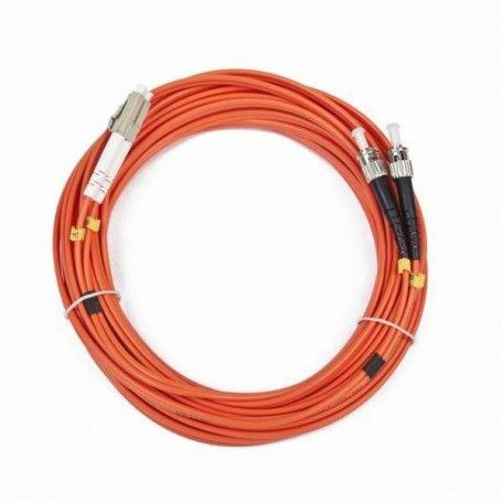 Duplex Multimode Fibre Optic Cable iggual IGG311561 LC / ST 10 m