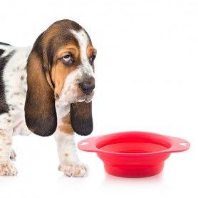 Comedero Plegable para Mascotas Heart
