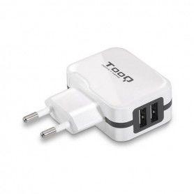 Wall Charger TooQ TQWC-1S02WT USB x 2 17W White