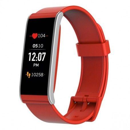 """Bracelet d'activités Mykronoz ZEFIT4 1,06"""" TFT Bluetooth 80 mAh Rouge"""