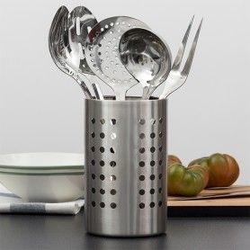 Set of Stainless Steel Kitchen Utensils