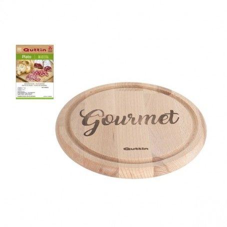 Plate Gourmet Quttin Wood