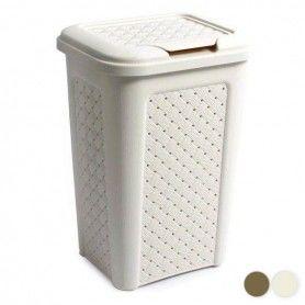 Rubbish bin Tontarelli Squared 10 L (24 X 20 x 35 cm)