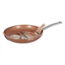 Non-stick frying pan Quttin Aluminium Orange