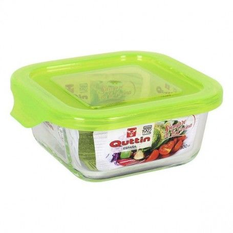 Square Lunch Box with Lid Quttin
