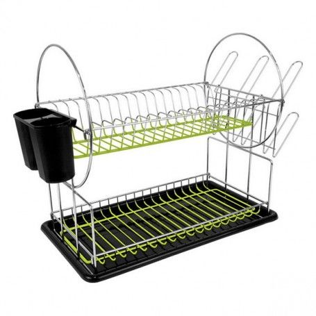 Draining Rack for Kitchen Sink Confortime Tray (50 X 23,5 x 33 cm)