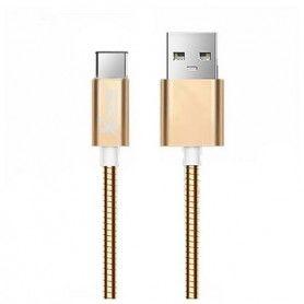 Cable USB A 2.0 a USB C Ref. 101097 Oro Rosa