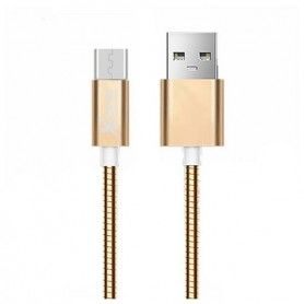 Micro USB to USB Cable Ref. 101103 Rose gold
