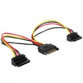 Cable Alimentación SATA GEMBIRD CC-SATAM2F-02 (15 cm)