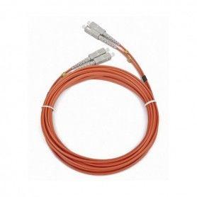 Cable Fibra Óptica Duplex Multimodo GEMBIRD CFO-SCSC-OM2-5M (5 M)