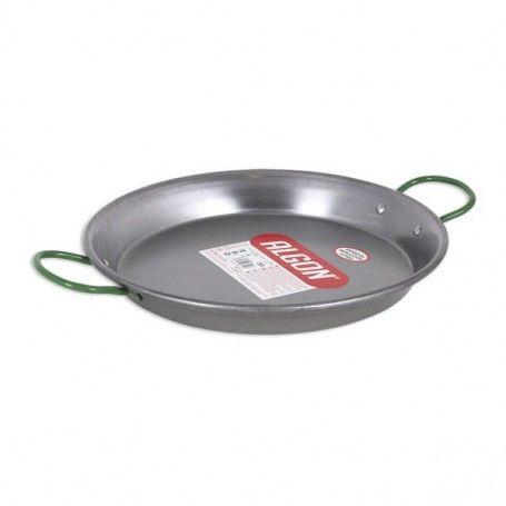 Pan Algon Polished steel Silver