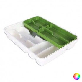 Cutlery Organiser Tontarelli Double Plastic (31 X 39,5 x 7 cm)