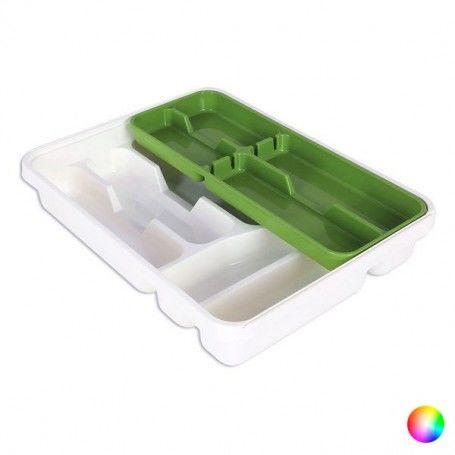 Cutlery Organiser Tontarelli Double Plastique (31 X 39,5 x 7 cm)