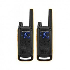 Walkie-Talkie Motorola T82 Extreme (2 Pcs) Negro Amarillo