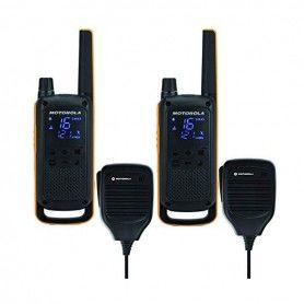 Walkie-Talkie Motorola T82 Extreme RSM (2 Pcs) Negro Amarillo