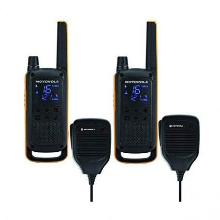 Walkie-Talkie Motorola T82 Extreme RSM (2 Pcs) Black Yellow