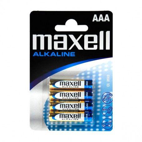 Alkaline Batteries Maxell LR03-MN2400 AAA 1,5 V