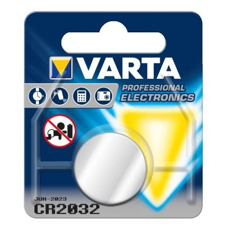 Lithium Button Cell Battery Varta CR-2032 3 V