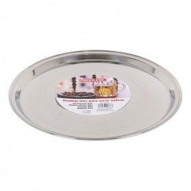 Tray Privilege Stainless steel Circular (ø 40 x 2 cm)