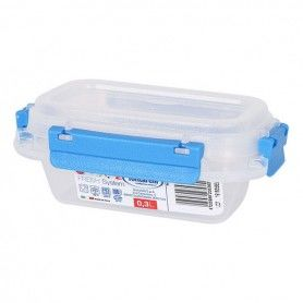 Hermetic Lunch Box Fresh System Tontarelli 0,3 L Plastic Transparent (9,5 x 14 x 5,7 cm)