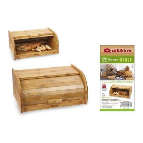 Breadbasket Quttin Bamboo (40 X 25,5 x 18 cm)