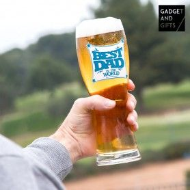 Vaso de Cerveza Best Dad Gadget and Gifts