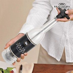 Bottle Salt and Pepper Mill